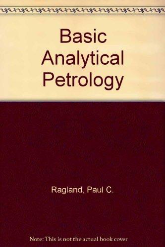 Basic Analytical Petrology