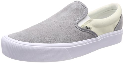 Vans Unisex Adults' Lite Slip on Trainers Grey ((Two-tone) Frost Gray/Marshmallow R3l) enjoy cheap price clearance nicekicks 2014 newest PfEN0hZ7T5