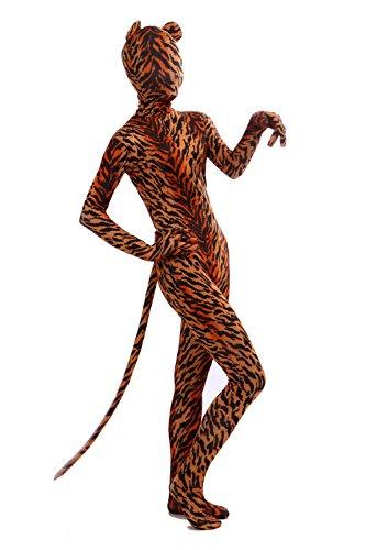 Halloween Costume Animal Cosplay Tiger Onesie Dress Up