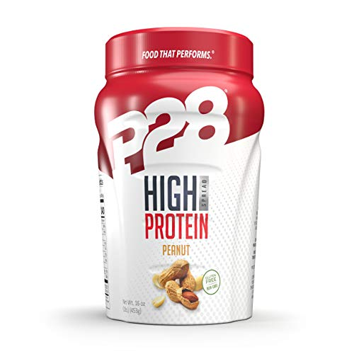 P28 Foods Formulated High Protein Spread, Peanut Butter, 16 Ounce