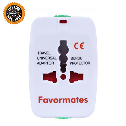 Adapter International Universal 110 250V Countries