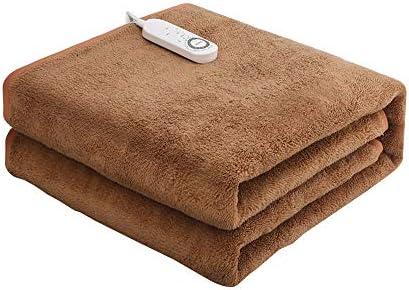 ホーム&キッチン/家電/空調・季節家電/電気暖房/電気毛布・ひざ掛け ダブル電気毛布、家庭の安全性、ノー放射線、デュアルコントロール、4速の温度調整、インテリジェントダウンシフト、除湿とダニ駆除エレクトリックマットレス (Size : 200*180cm(79.7*70.9in))
