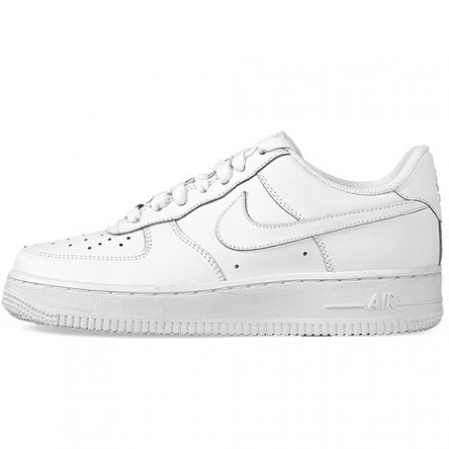 Nike Air Force 1 Low GS All White Youth Lifestyle Sneakers New All White - 5.5