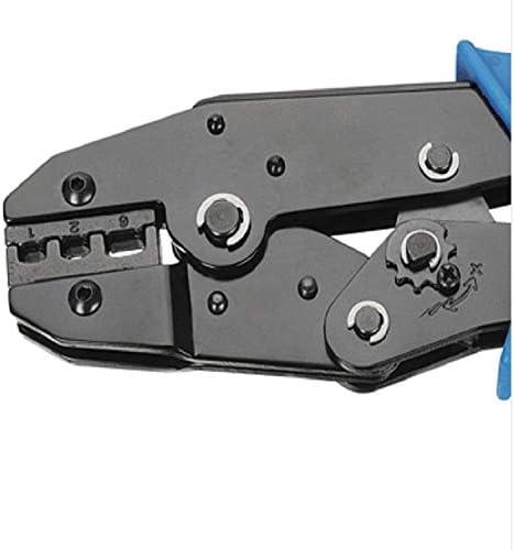 mecoco 圧着ペンチ 圧着工具 ハンドプレス 絶縁被覆付閉端接続子用 圧着キャップ