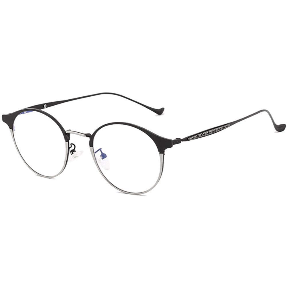 7bd3bc4bec Amazon.com  Metal Lightweight Frame Progressive Blue Light Blocking Glasses  Anti Eyestrain UV Computer Eyewear Reading Glasses  Health   Personal Care
