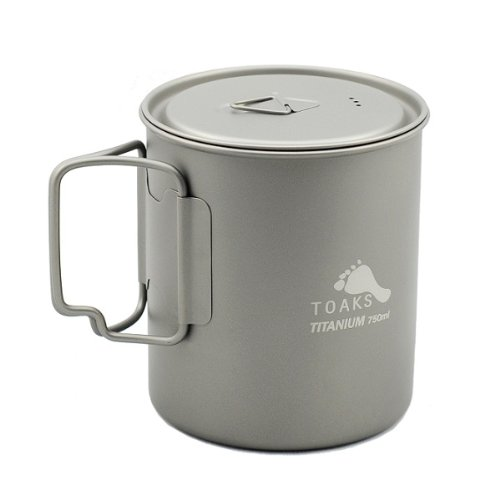 Price comparison product image TOAKS Titanium 750ml Pot