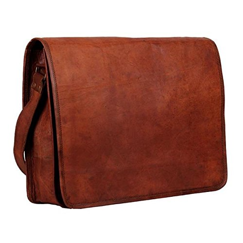 Collection Leather Small Messenger (The Faulkner | Rich Brown Leather Messenger Bag)