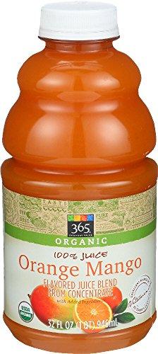 365 Everyday Value, Organic 100% Juice, Orange Mango, 32 fl oz