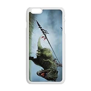Creative Dinosaur Big Mouth Custom Protective Hard Phone Cae For Iphone 6 Plus