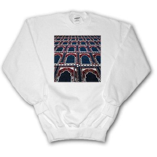 Danita Delimont - Patterns - Pattern of prayer rugs, Islamic mosque, Cairo, Egypt-AF14 AJE0030 - Adam Jones - Sweatshirts - Adult SweatShirt XL (ss_74155_4) (Pic Rug)