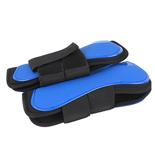 Neoprene Lined Fetlock Boots - Dovewill 1 Pair Horse Splint Boots Front Leg Guard Tendon Fetlock Protection Jumping Boots Neoprene Lined