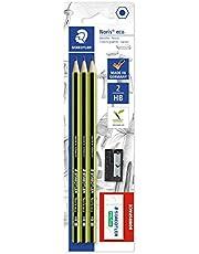 Staedtler Noris Eco 3 HB Pencils with Resoplast Eraser and Sharpener