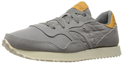 Saucony Originals Women's DXN Trainer Fashion Sneakers, Grey, 8.5 M US