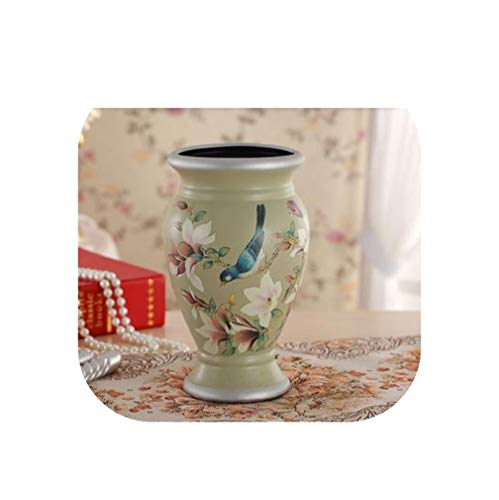 Euramerican Style Ceramic Flower vases, Ceramic Arts and Crafts in Living in Adornment, Married to Decorate a Room,Style 1