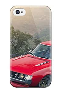 Durable Protector Case Cover With Red Car Amazing Dekstop Hot Design For Iphone 4/4s