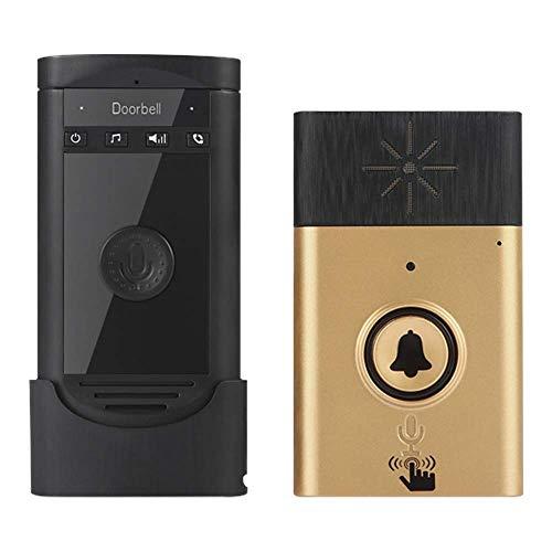 (Intercom Voice - Wireless Intercom Doorbell Voice Two Way Portable Walkie Talkie Operating At Over 600 Feet 200m Home - Home Reader Quran Audio Activated Children Phone Video Panel Doorbell)