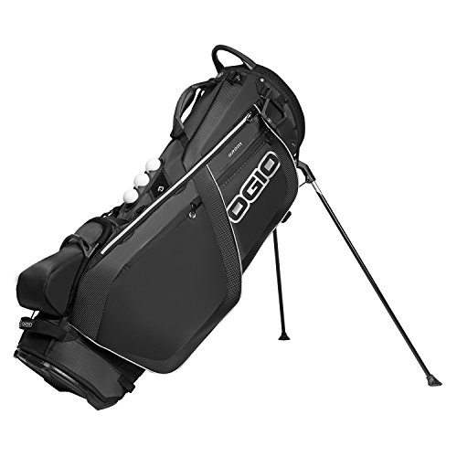 OGIO Grom Stand Bag, Carbon - Golf Golf Mens Bag
