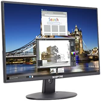 """Sceptre 20"""" 1600x900 75Hz Ultra Thin LED Monitor 2x HDMI VGA Built-in Speakers, Machine Black Wide Viewing Angle 170° (Horizontal) / 160° (Vertical)"""