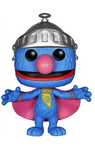 Funko POP TV: Sesame Street Super Grover Action Figure]()