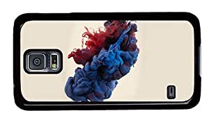 Hipster Samsung Galaxy S5 Case new colored liquid PC Black for Samsung S5