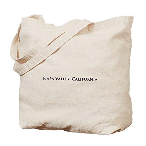 CafePress - Napa Valley, California - Natural Canvas Tote Bag, Cloth Shopping Bag