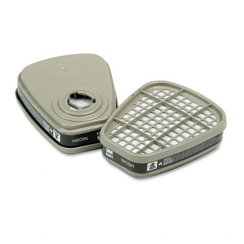 3M 6001 Organic Vapor Cartridge for Respirator 5-PAIR by 3M (Image #1)