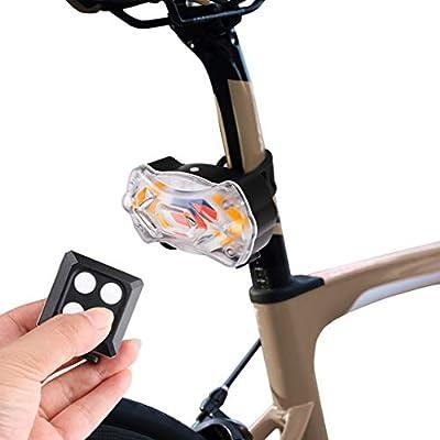 Hunpta@ 1 Paquete de Luces LED traseras para Bicicleta ...