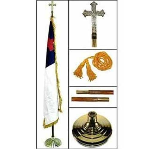 Christian Indoor Flagpole Kit