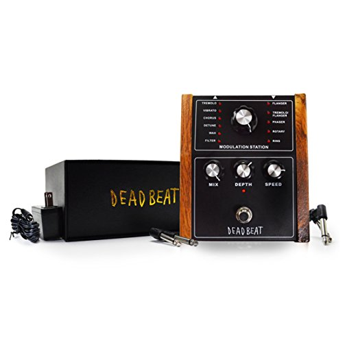 MODULATION STATION Multi Effects Pedal by Deadbeat Sound