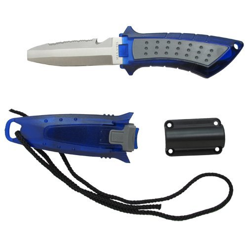 Scuba Choice Diving Low Volume Stainless Steel Blunt Tip BCD Knife, ()