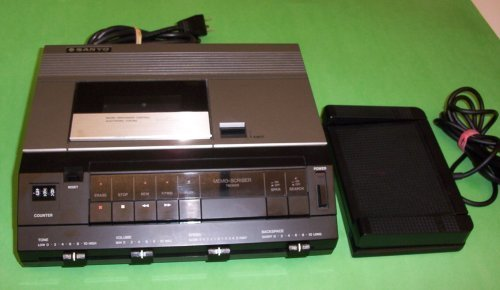 Sanyo Trc 9010 Standard Cassette Transcription Transcribing Transcriber Machine