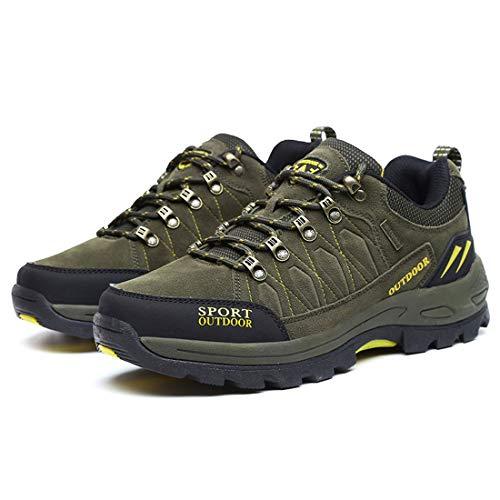 Boot Hiking Men Water Jiyaru Green Repellent Shoes Outdoor a7nwYq