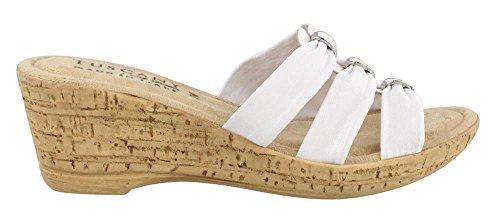 Easy Street Andrea Womens Sandal White 1QTnBDxog5
