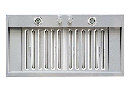 Windster Hood WS-69TS36 Residential Stainless Steel Insert/Liner Range Hood, 36-Inch - Vent Hood Liner
