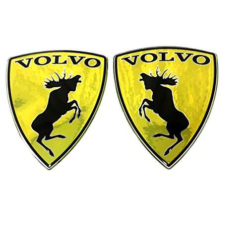 "60x68 mm Lambo Moose Volvo car Stickers,Polyurethane Metallic Film 2.36/""X2.68/"""