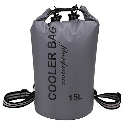 SPORT BEATS Prime 15L Insultated Cooler Backpack - Dry Bag for Beach - 24H Keep Cooling 4?