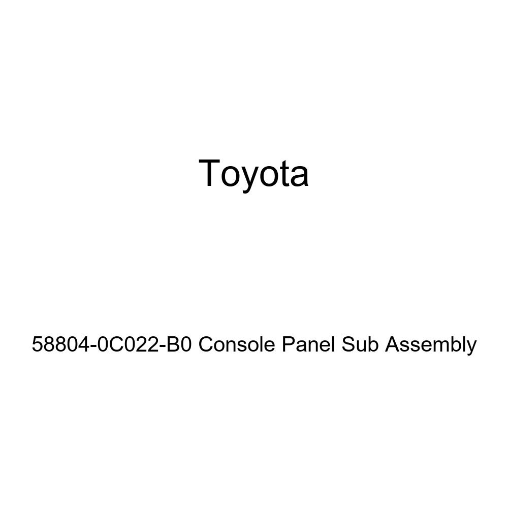 TOYOTA Genuine 58804-0C022-B0 Console Panel Sub Assembly