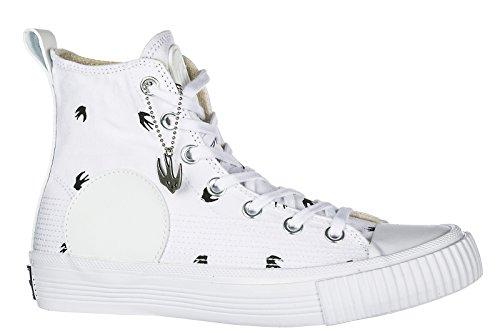 MCQ Alexander McQueen Damenschuhe Damen Schuhe High Sneakers Swallow Weiß