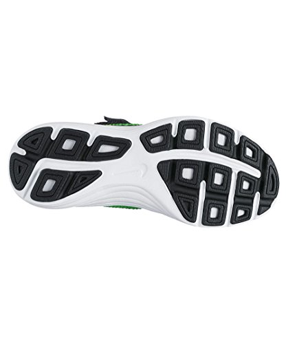 Nike Revolution 3 (PSV) Anthracite/Green Strike Black, Zapatillas de Deporte Unisex Niños Verde (Green)