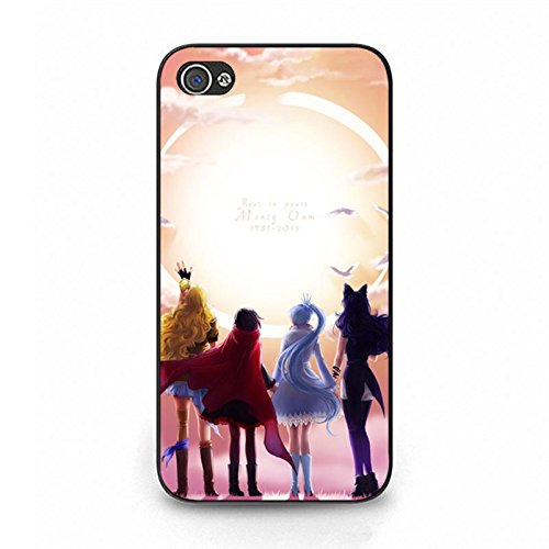 RWBY Phone Case for Iphone 4/4s Graceful Perfect Anime Theme Pattern Cover Shell RWBY Design Back Cover