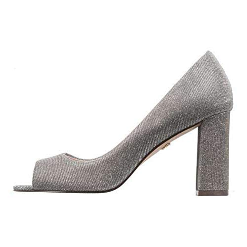 (NINA Womens Farlyn Open Toe Classic Pumps, Tan, Size 7.5)
