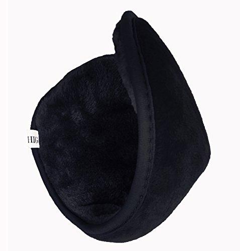 HIG-Ear-Warmer-Unisex-Classic-Fleece-Earmuffs-Winter-Accessory-Outdoor-EarMuffs