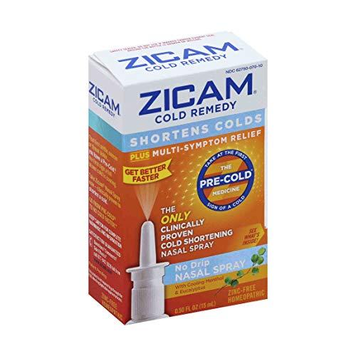 Zicam Cold Remedy Nasal Spray, 0.5 Fluid Ounce (Best Medicine For Nasal Drip)