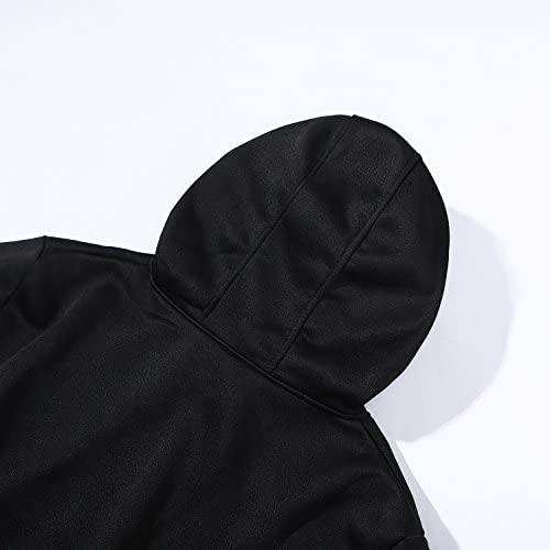 babyhealthy Kpop Blackpink Hoodie Jisoo Jennie Rose Lisa Black Long Sleeve Simple Sweatshirt Pullover