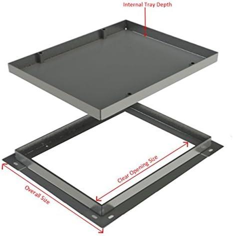 CLKS 791R//100 600 x 100 mm a incasso tombino per cortili vialetti pavimentazioni /& segnalasse