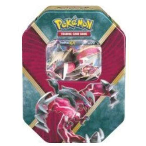 Pokemon Trading Card Game: 2016 Summer Shiny Kalos Tin- Yveltal-EX- With 4 Booster Packs and 1 Special Foil EX Card!