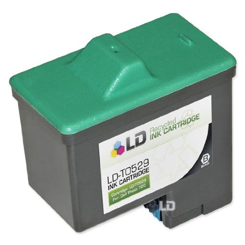 LD © Remanufactured T0529  Black Ink for Dell 720/A920