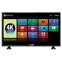 Mitashi 125.73 cm  50 inches  MiDE050v25 4KS 4K LED Smart TV  Black  Smart Televisions