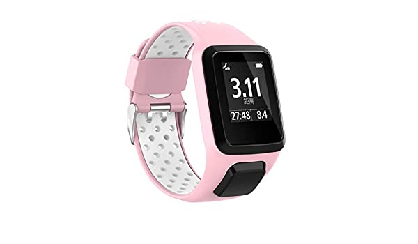 Correa de reloj de silicona para TomTom Adventurer/Golfer 2 ...