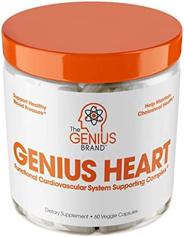 Genius Heart Cardiovascular Health Supplement product image